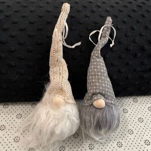 New set/2 light up gnome ornaments